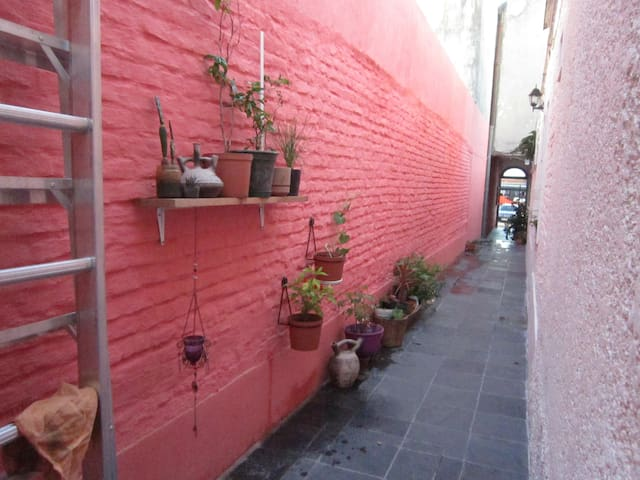 Private twin room in students house - Montevideo - Condominium