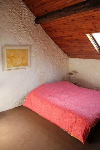 Chambre 2 (Ferme ancienne du Vexin français) - Neuilly-en-Vexin - Apartment