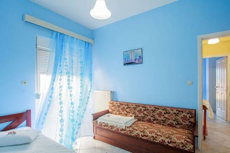 Comfy 2BR near City and Sea - with parking & WiFi - Chania - Byt