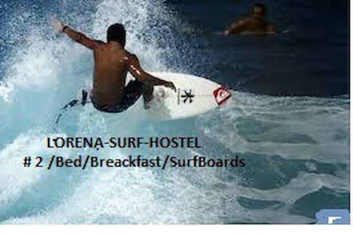 # 2 / Bed / Breackfast / SurfBoards