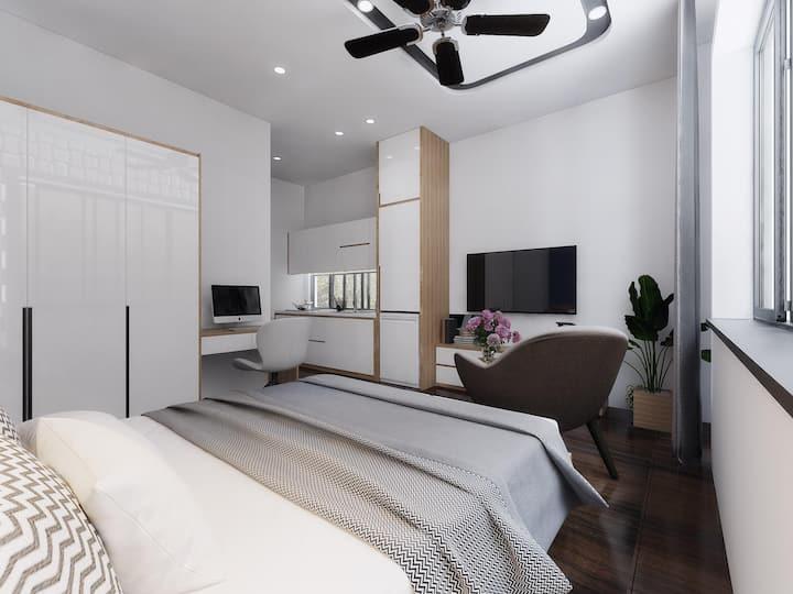 New full furnished studio 30sqm in Da Nang