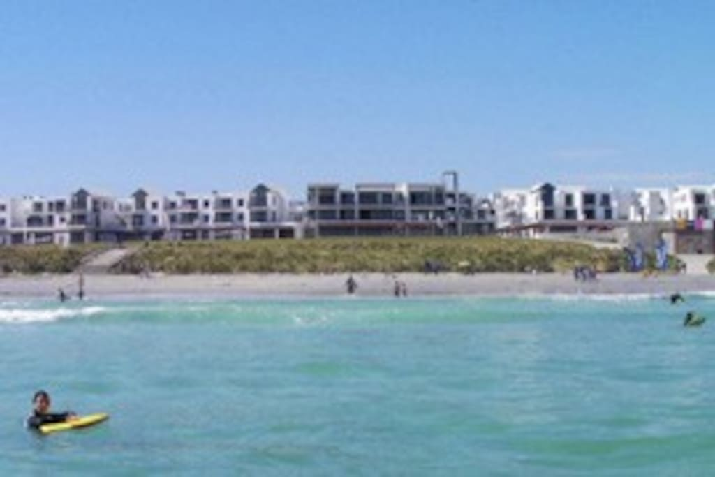 View of apartment from the Sea