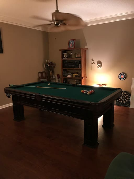 pool table open!