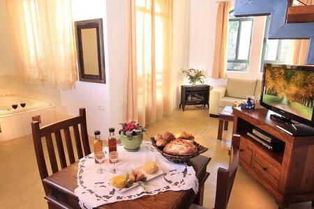 Pnina Bamoshava- luxury combined with simplicity