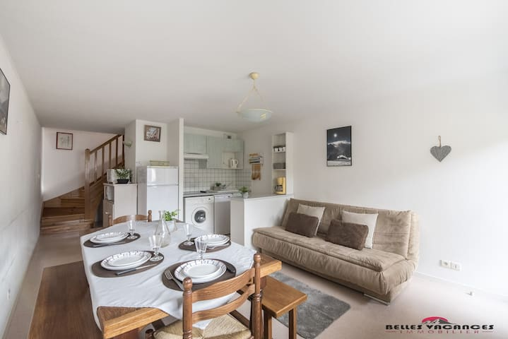 LOCATION APPARTEMENT SAINT LARY SOULAN / TYPE 4/ SECTEUR THERMAL/TELECABINE/