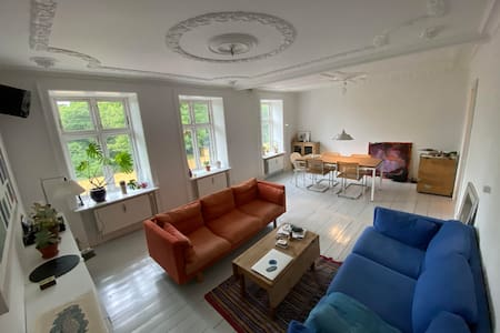 Spacious and bright flat in the heart of Nørrebro