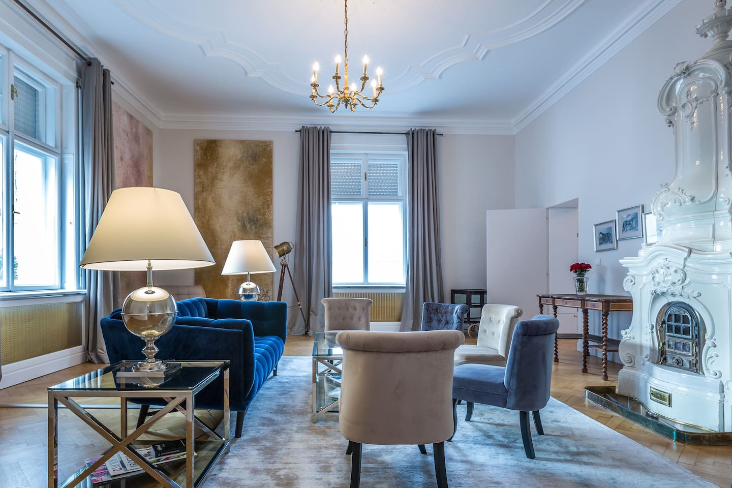 Luxury Design 180m²-Palais Apartment - Apartments for Rent in Vienna ...