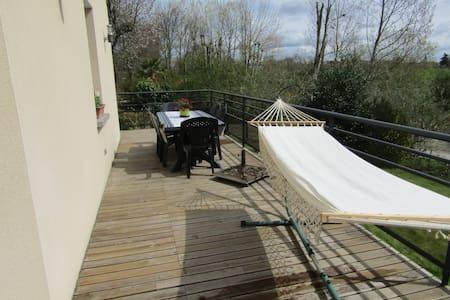duplex terrasse  campagne mer - Plouër-sur-Rance