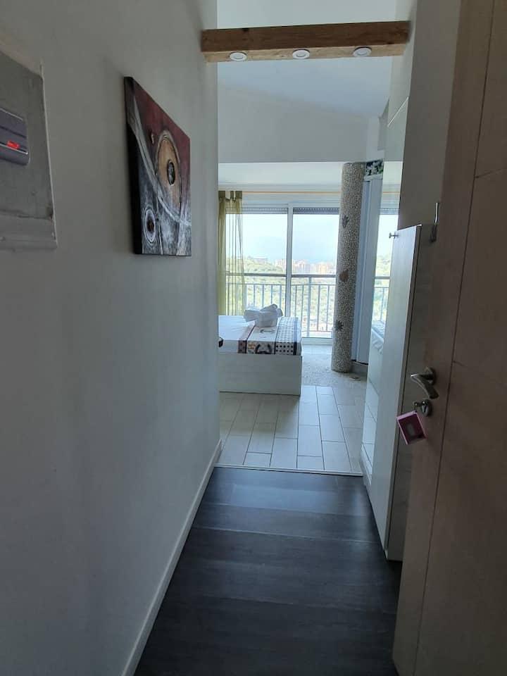 Sea  view Apartment 1 .in Villa