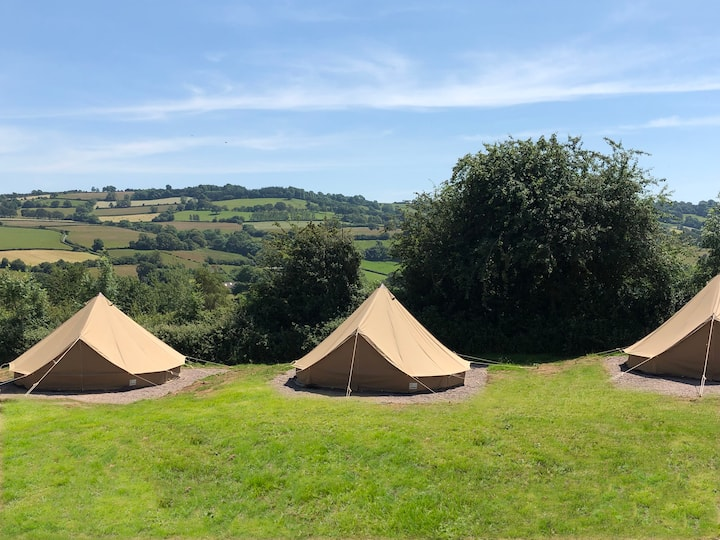Bell Tent 3 at Longtown ~sleeps 6