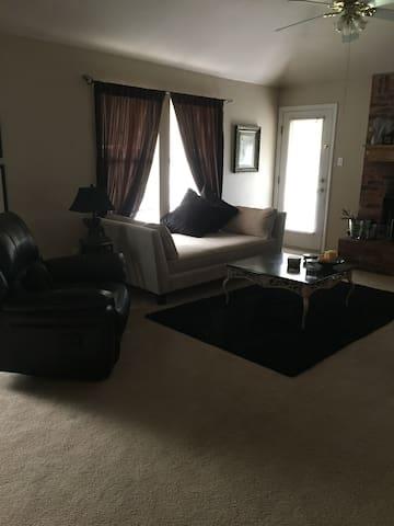Comfortable Home in quiet neighborhood.