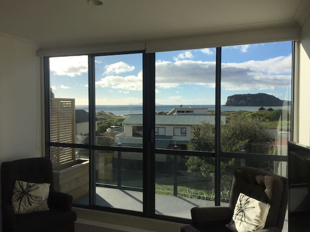 The Perfect Location & Sea Views! - Whangamata - Flat