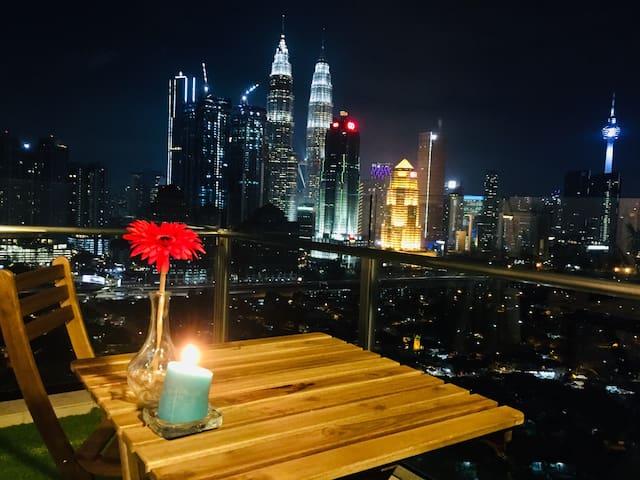KLCC City Center View Near IJN 5min 吉隆坡双子塔全景豪华公寓
