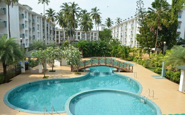 Flat close to benaulim beach - Vanelim, Colva