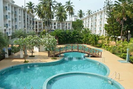 Flat close to benaulim beach - Vanelim, Colva - Byt