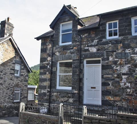 Stone built cottage in Betws y Coed, Snowdonia