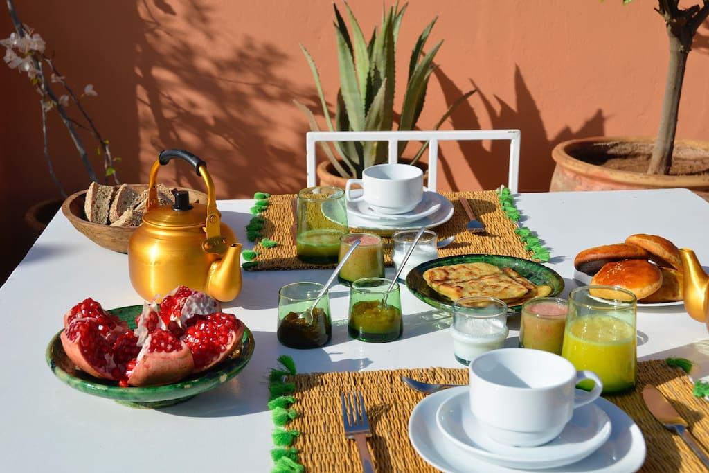 Riad avec piscine en plein coeur de la m dina maisons for Riad medina marrakech avec piscine