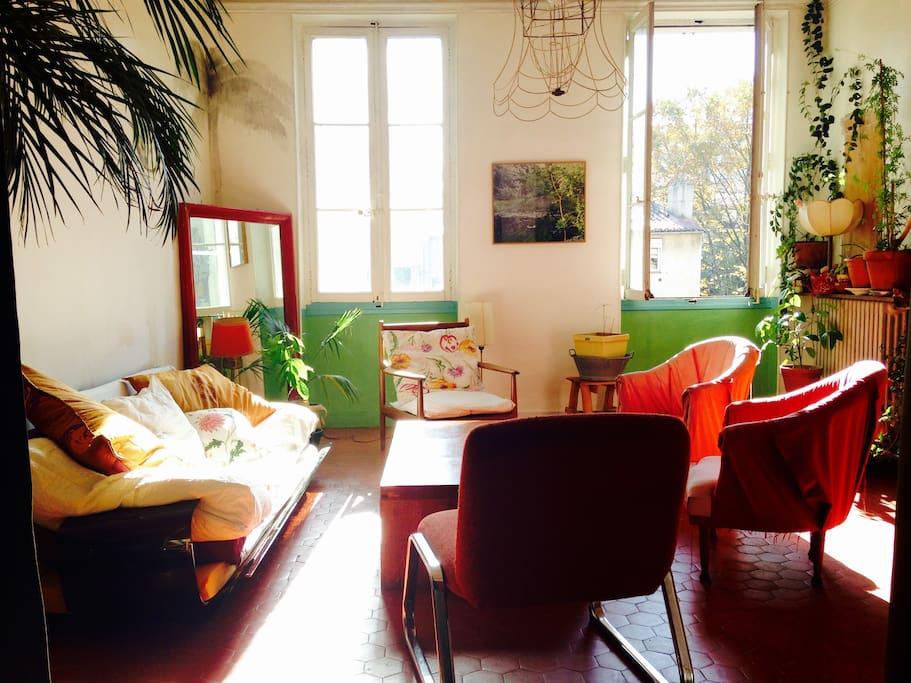 Chambre atypique appartements louer marseille for Appartement atypique 77