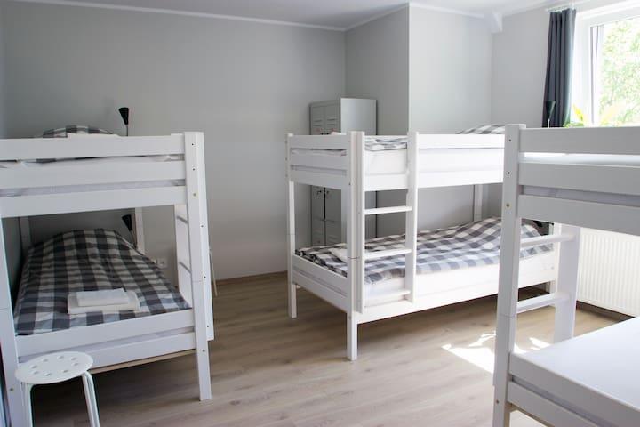 NEW Hostel HONEY DEN Gdańsk 6 beds - 2 beds left!! - Gdansk - Bed & Breakfast