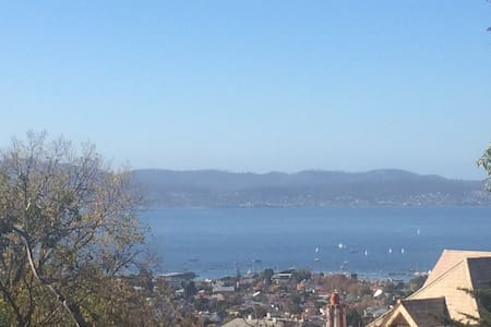 Two bdrm unit in hip South Hobart - superb views - South Hobart