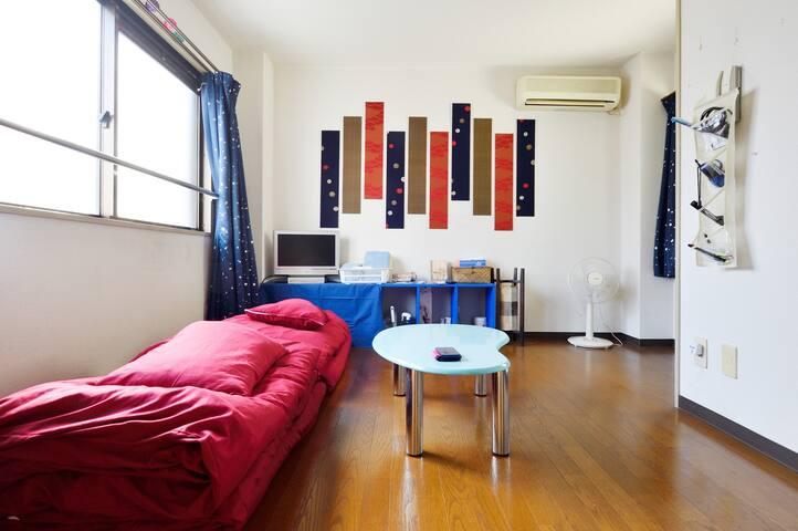 B)STAwalk5min.OSAKA4min.NANBA10min.byTrainCOZY - Ōsaka-shi - Appartamento