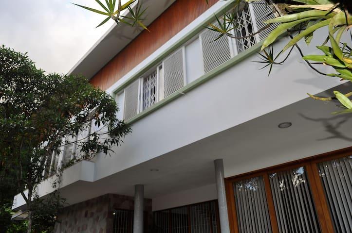Casa orgânica de estilo moderno