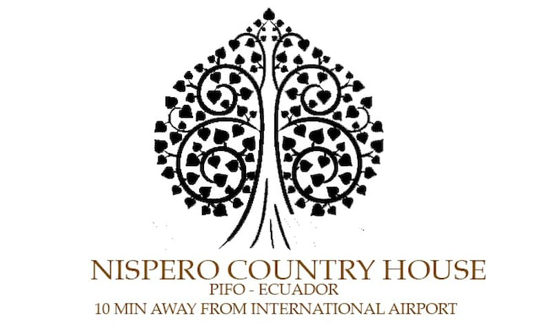 Nispero House.10 min to AIRPORT