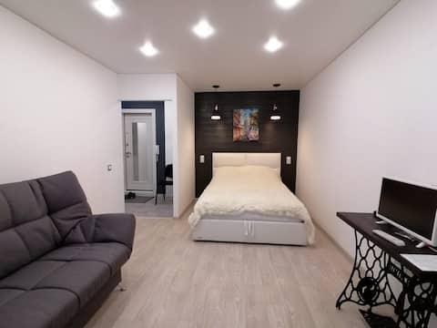 Уютная квартира (в скандинавском стиле).