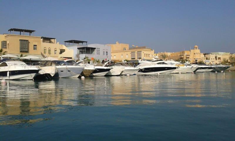 "Scenic ""room"" at Marina, elGouna"