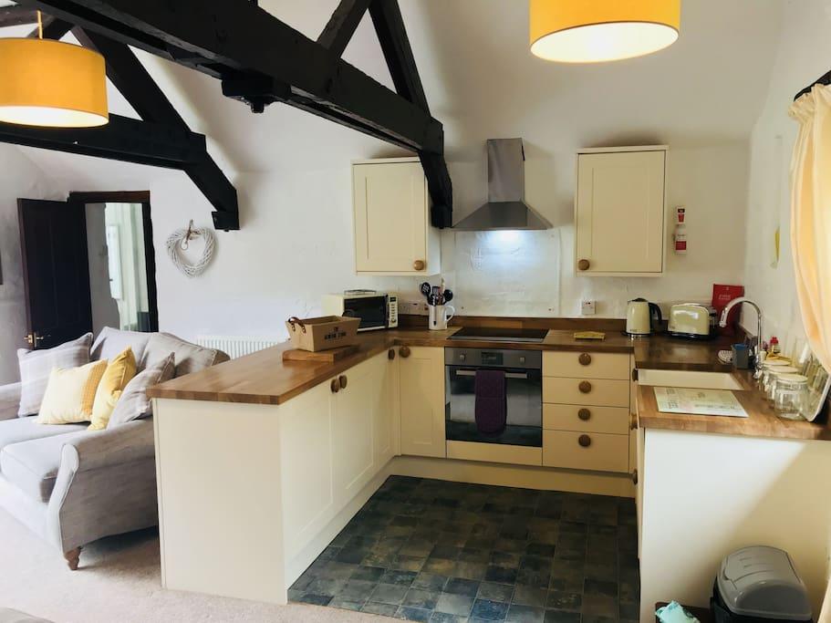 Kitchen | Old Mill Cottages - Jasmine Cottage, Marldon, nr. Paignton