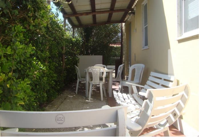 House in Circeo: sea and nature