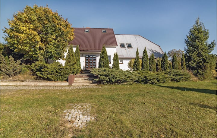 Nice home in Miastko with Sauna, WiFi and 8 Bedrooms