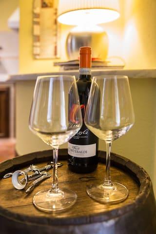 Campagna Toscana, pace e relax a 10 min da Siena - Carpineto - Lägenhet