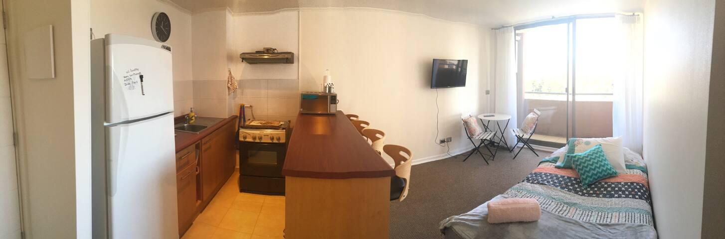 Cozy Two Bedroom Apartment - Valparaíso - อพาร์ทเมนท์