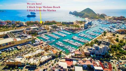 Dreamy Cabo Getaway/ Best Location WALK EVERYWHERE