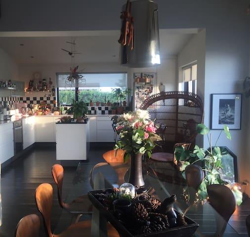 Artist apartment near Reykjavik - Álftanes