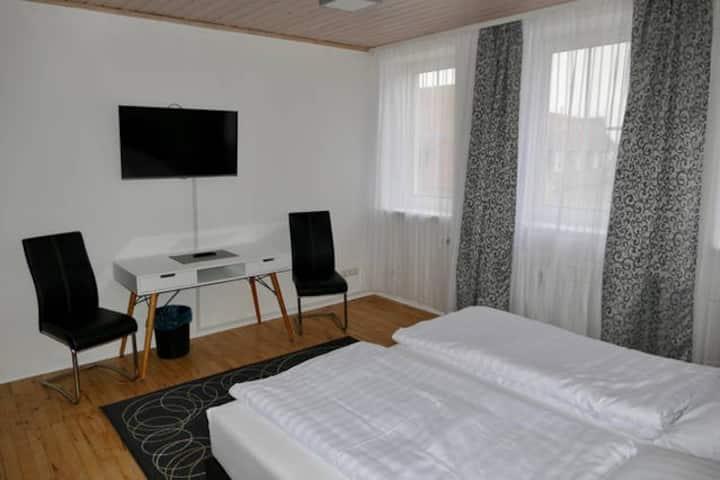 Doppelzimmer mit 1 Doppelbett