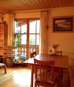 Charming apartment with a mountain view balcony. - Golling an der Salzach - Apartamento