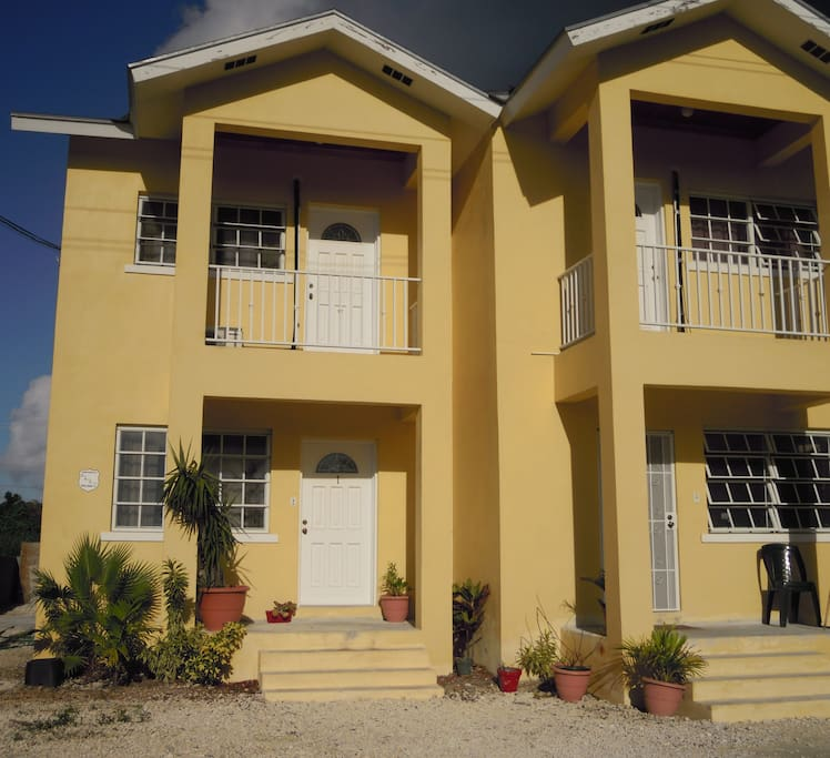 Our Sunny Town Home in Nassau, Bahamas.