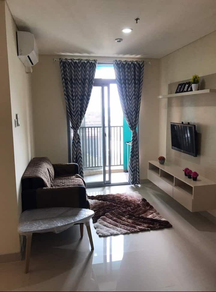 A Modern 1BR Apt minutes away from City Center