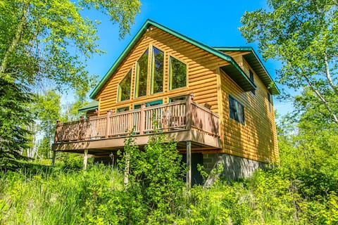 Phoenix Cabin is north woods life at its best with private location and wild life right out your back door