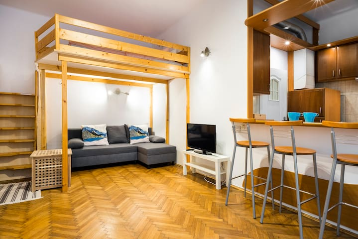 *Real Host*Chic, Cosy Apartment in Central Cracow
