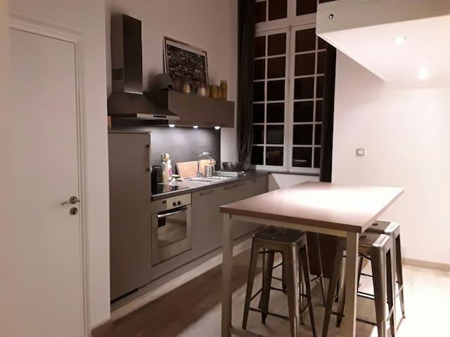 Appartement 27 m2 avec mezzanine - Redon - Appartement