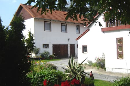 Ferienwohnung-Haus-Waldblick mit Balkon - Neschwitz - アパート