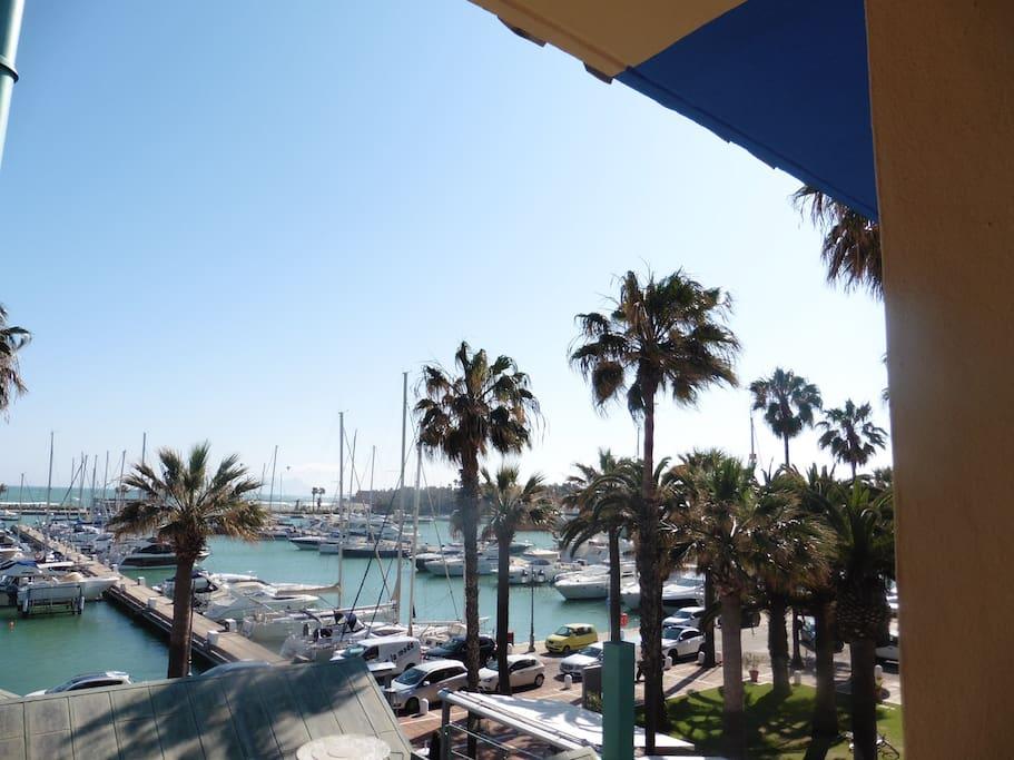 Maravillosas vistas al Puerto