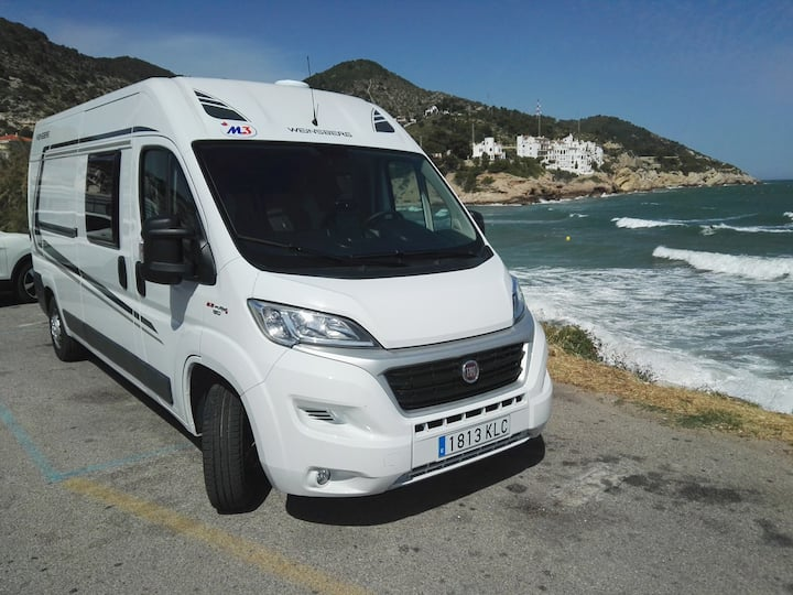 CAMPER AUTOCARAVAN FOR FREEDOM IN MALLORCA