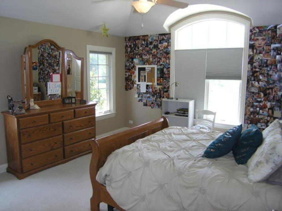 Bedroom you will rent