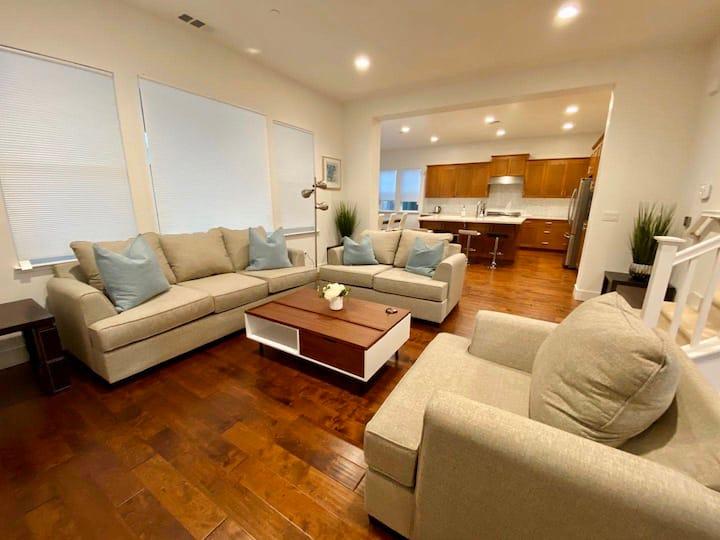 Luxury Modern 3B3B Home in Dublin W/ Parking
