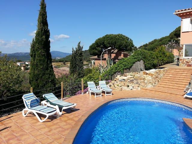 Apartement met privé zwembad - Blanes - Apartamento