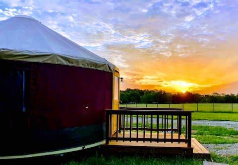 Wildflower Yurts ~ Honeysuckle